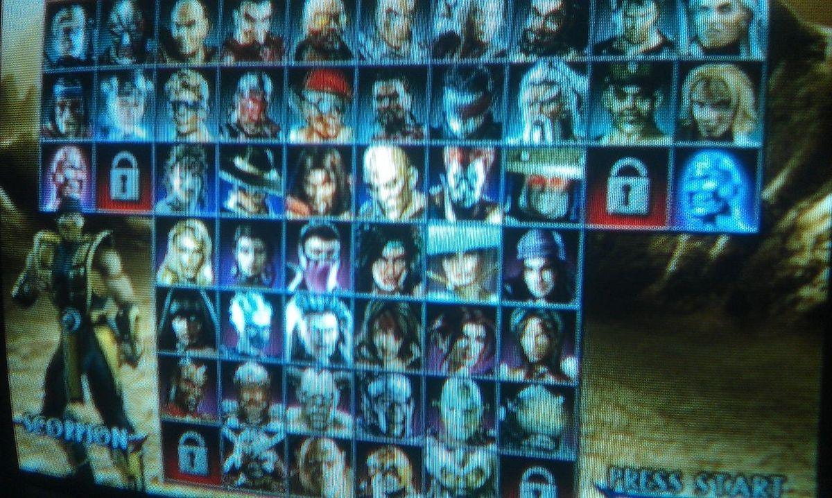 Game Mortal Kombat Playstation