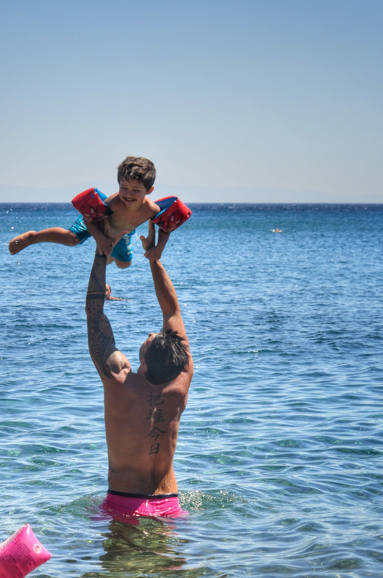 Fatherhood Moments Father & Son Having Fun On The Beach Beachphotography Pricelessmoments  My Son Smiling Summer Views Happy People Memories Smile Pricelessmoments  Togetherness Family Power Vacations Waterfront Enjoyment People Photography Unconditional Love Happiness Connection Capture The Moment Summer Time  Childhood