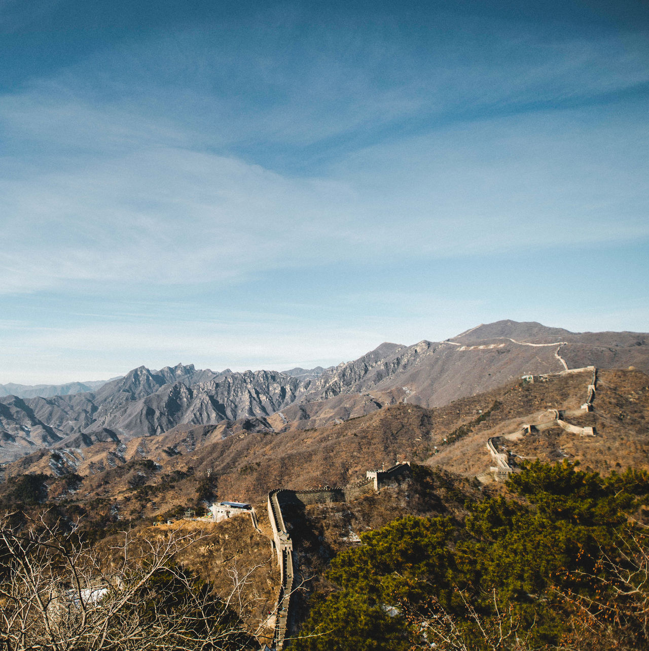 Crack the Earth Mountain Sky No People Mountain Range Outdoors Landscape ASIA Wanderlust Showcase: March Travel Traveling Day Great Wall Of China China