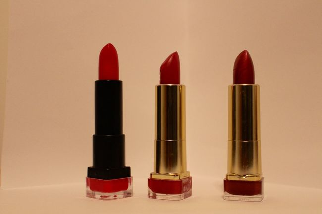 My lipsticks Arrangement Beauty Business Close Up Close-up Composition Femininity Front View Ideas Indoors  Lipstick Looking At Camera Mouth Open One Person Order Part Of Portrait Red Showcase Febuary Simplicity Still Life Young Adult Young Women
