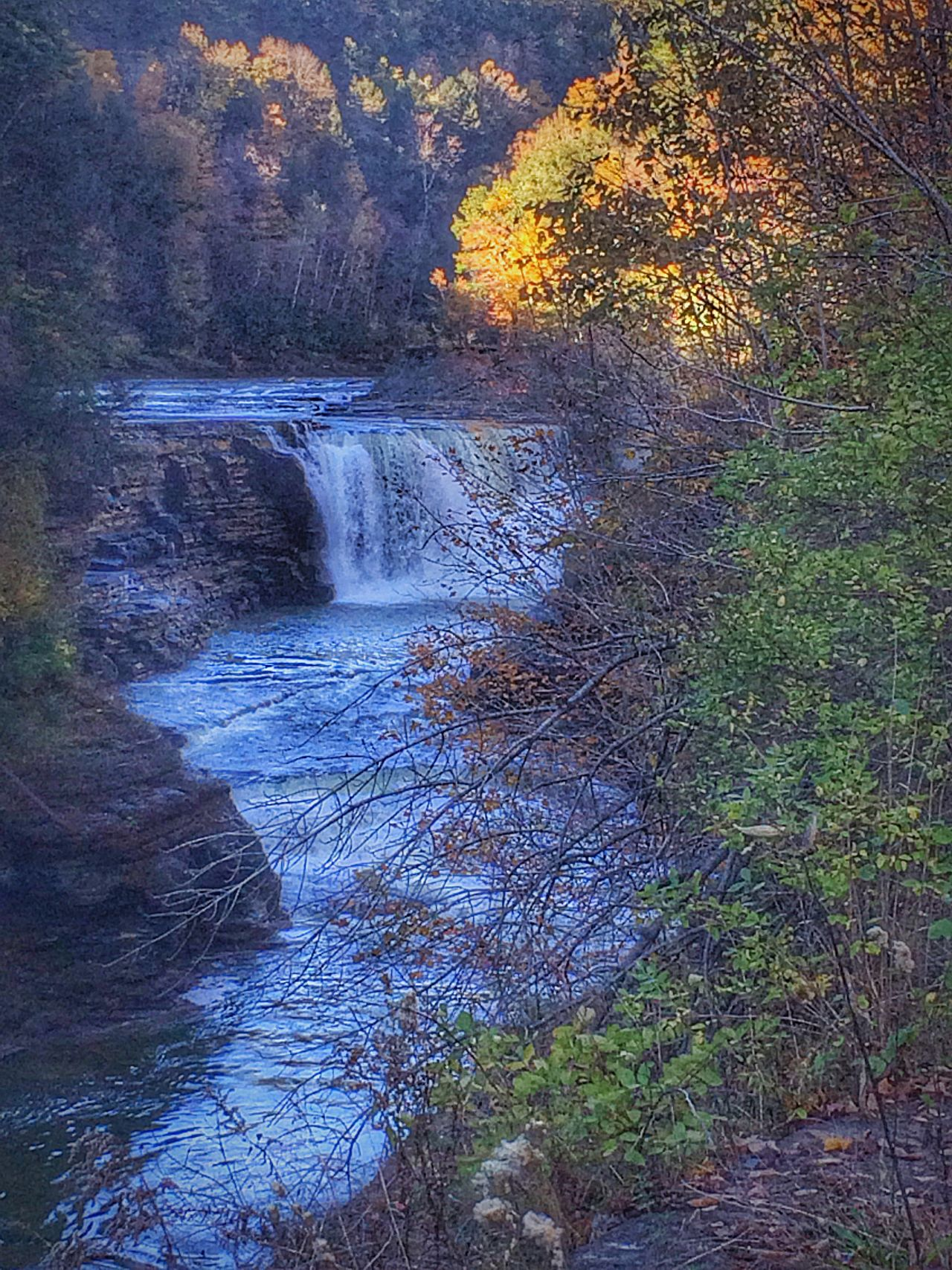 On A Hike Enjoying The Sights Nice Views The Places I've Been Today Getting In Touch Fall Beauty Landscape_Collection Nature EyeEm Nature Lover Waterfall