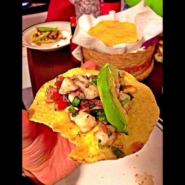Homemade Mexican ceviche... Yummy Food Ceviche Boxingmatch
