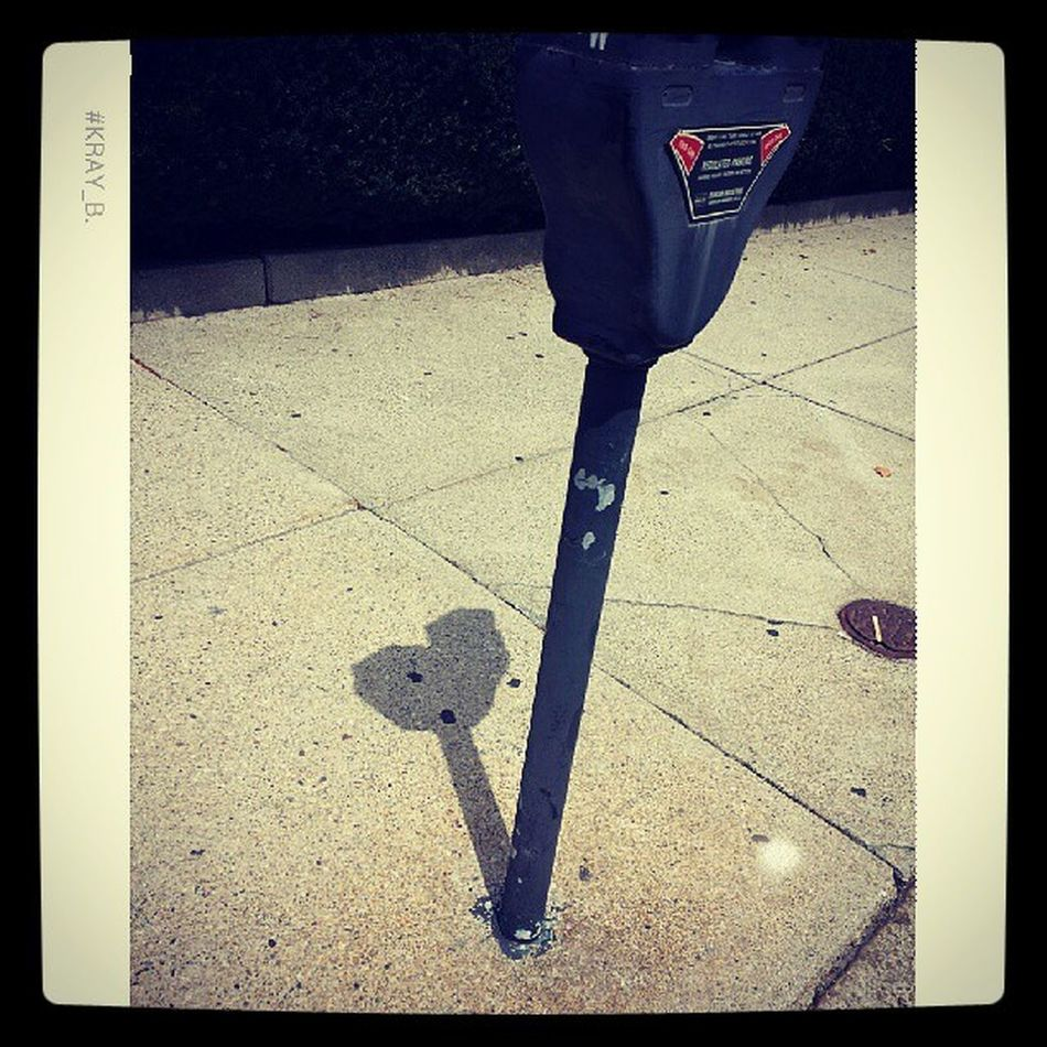 Parking meter loves me...after I fed it of course Randomheart Shafowfun