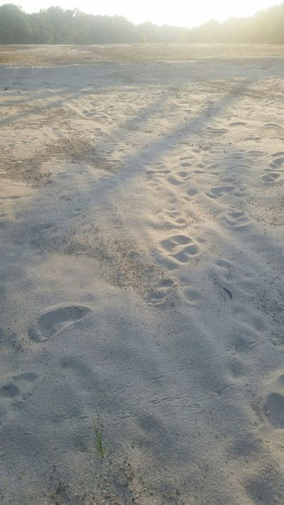 Footprints Sand River Collection SandySeries Riverlife Mississippi Summer Outdoors❤
