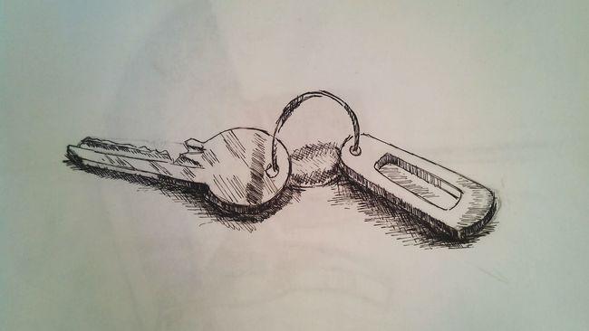 Key Anahtar Rapido Art Drawing Karakalem Sketch Skechbook Eskiz