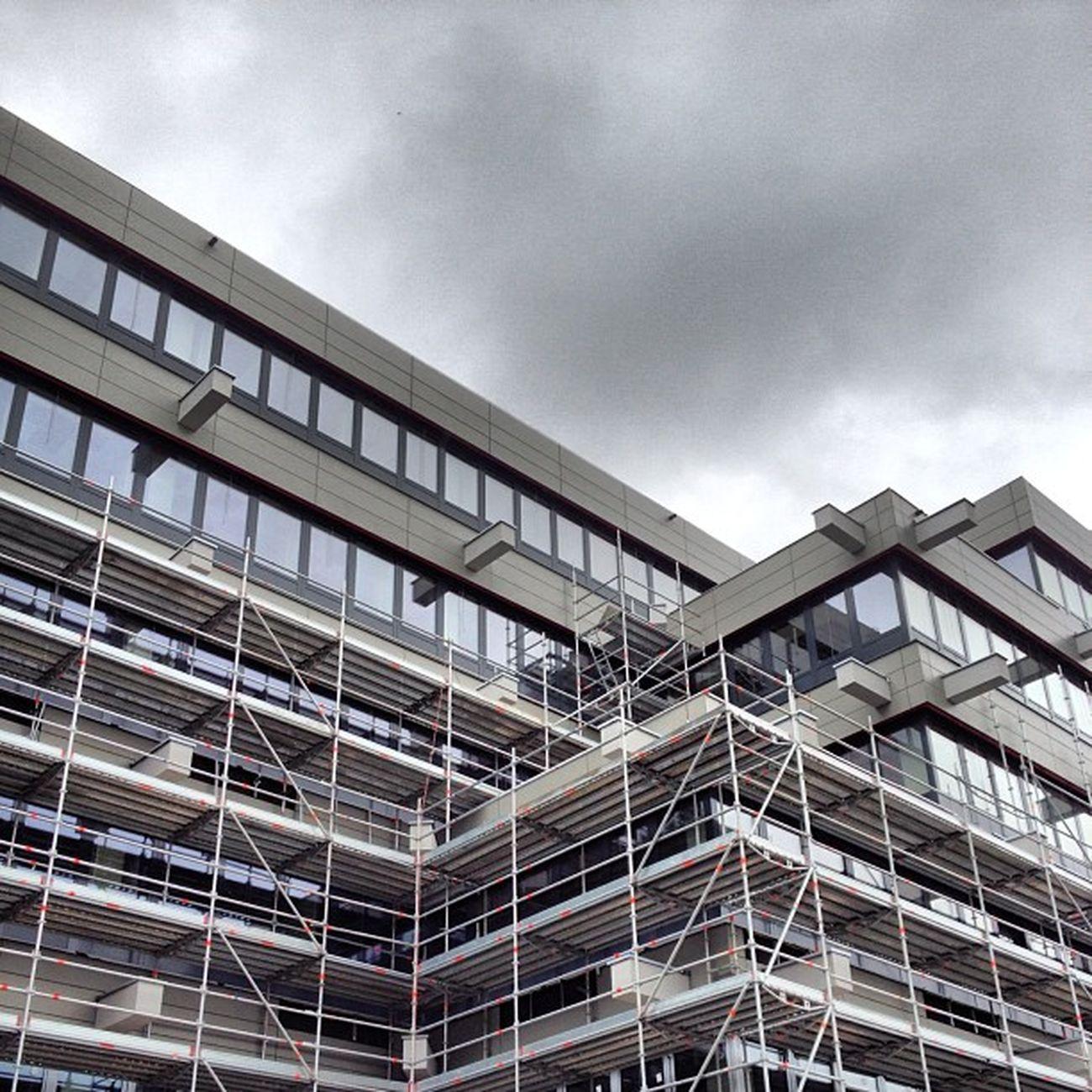 """Das J-Gebäude bekommt ne """"schicke"""" Fassade! #upb Upb"""