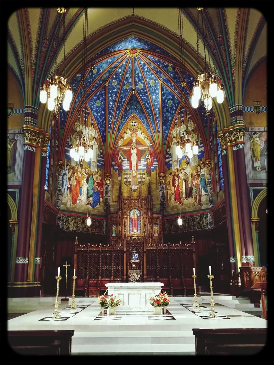 Cathedral Catholic Church Altar