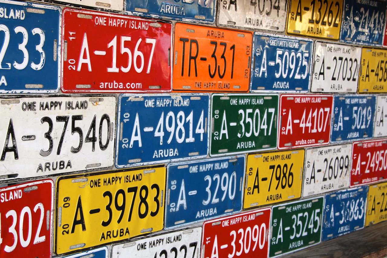USA Nummernschild Nummernschilder Numberplate License Plates Licenseplate Licenseplates License Tag Car Tags Car Tag