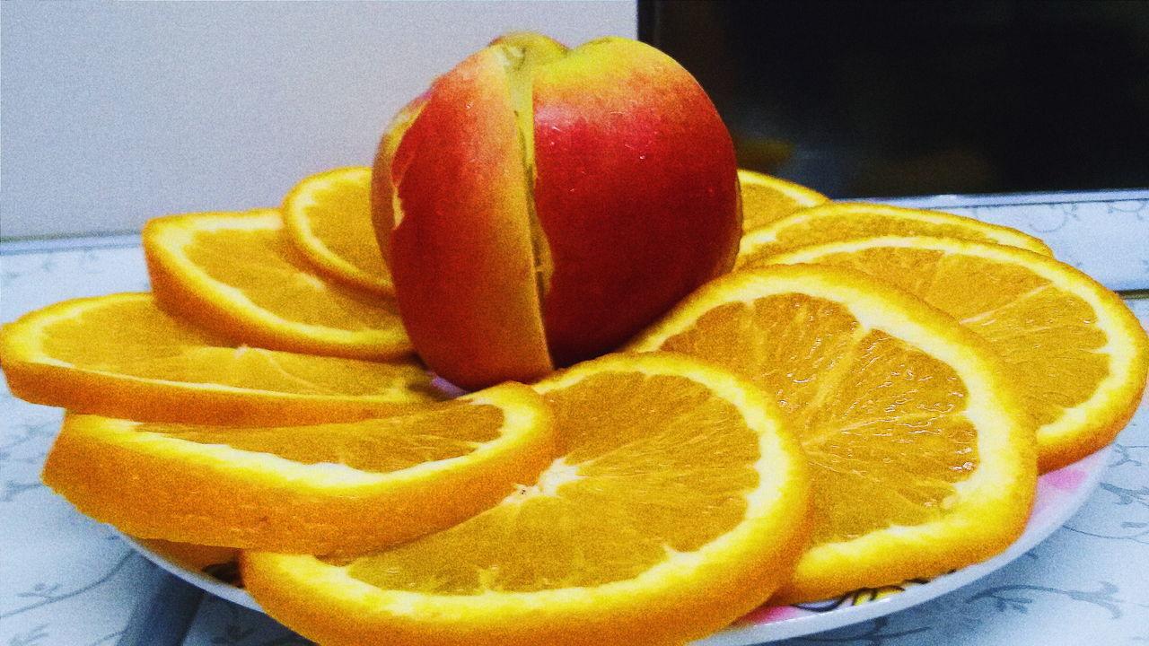 Apple Orange Fructis Fruct яблоко фрукты апельсин GreenApple