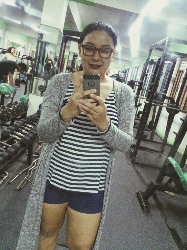 Post workout selfie lol Sweating It Out Cute Taking Photos Selfie ✌ Gymfie