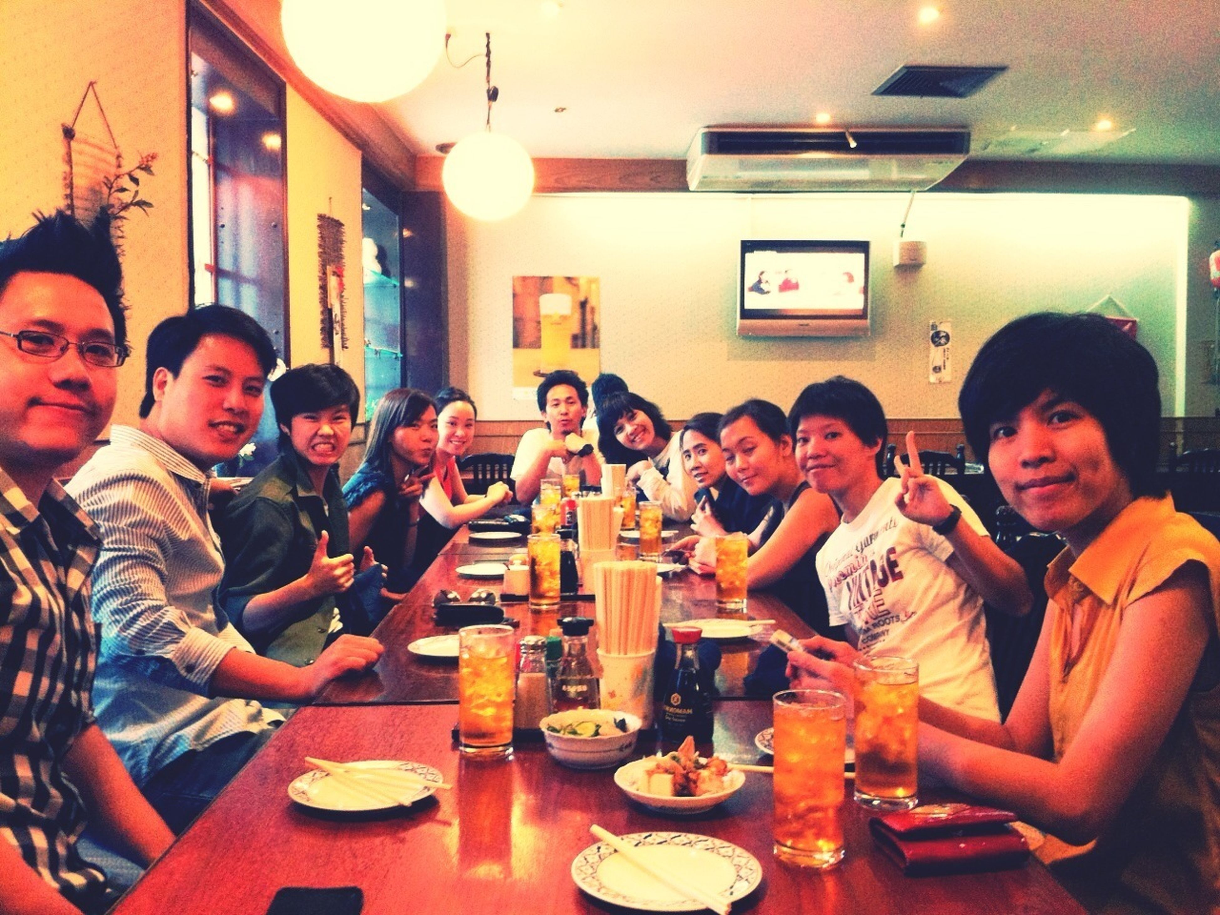 Office Lunch At The End Of 2012