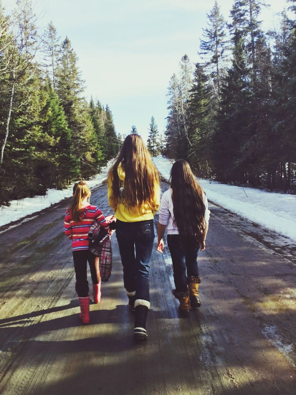 Beautiful stock photos of family, Casual Clothing, Cold Temperature, Day, Full Length