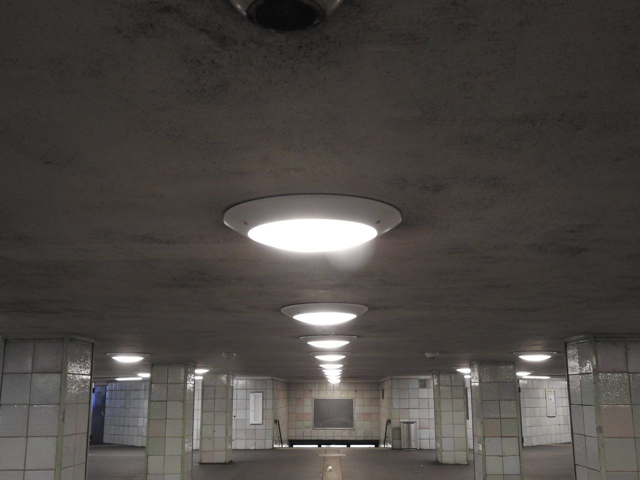 Lighting Equipment Illuminated Ceiling Electricity  Indoors  Low Angle View No People Pendant Light Architecture Day Berlin Hermannplatz