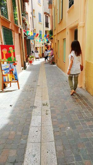 Collioure France 🇫🇷 Enjoying Life SudDeFrance France Streetphotography SouthFrance Street Photography Colors ThatsMe Portuguesegirl Frenchgirl Artoftravel Streetart