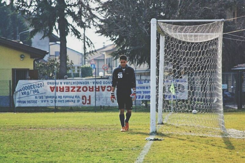 Football Calcio Goalkeeper