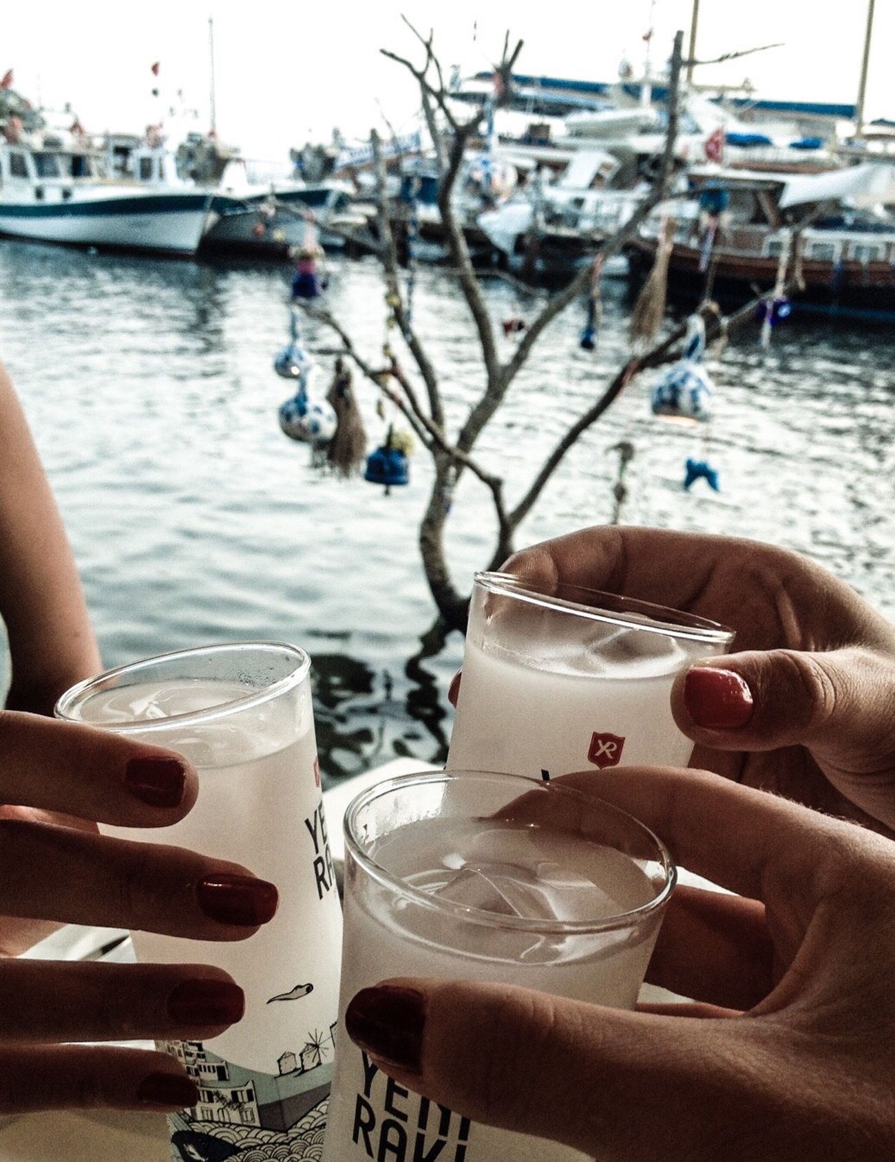 Rakı Girls Gümüşlük Bodrum Deniz Sea View Seaside Sea Happiness Happy People Relaxing Holiday Summer Turkish Raki Cheers