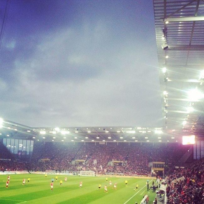Tolle Atmosphäre heute im Stadion gewesen :-)