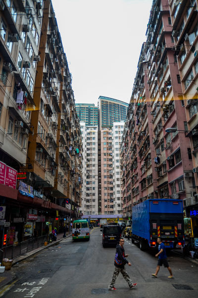 Adult Adults Only Architecture Building Exterior Built Structure City City Life City Life City Street City Street Day Hong Kong Hong Kong Architecture Hong Kong City Men Outdoors People Places Sky Skyscraper Still Life Transportation Travel Travel Destinations Vacations The Street Photographer - 2017 EyeEm Awards