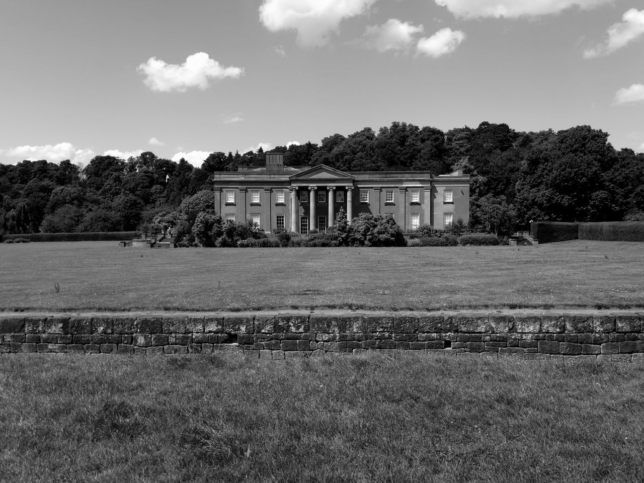 Architecture Built Structure Building Exterior History Outdoors Tree Sky No People Day Himley Hall Park Dudley