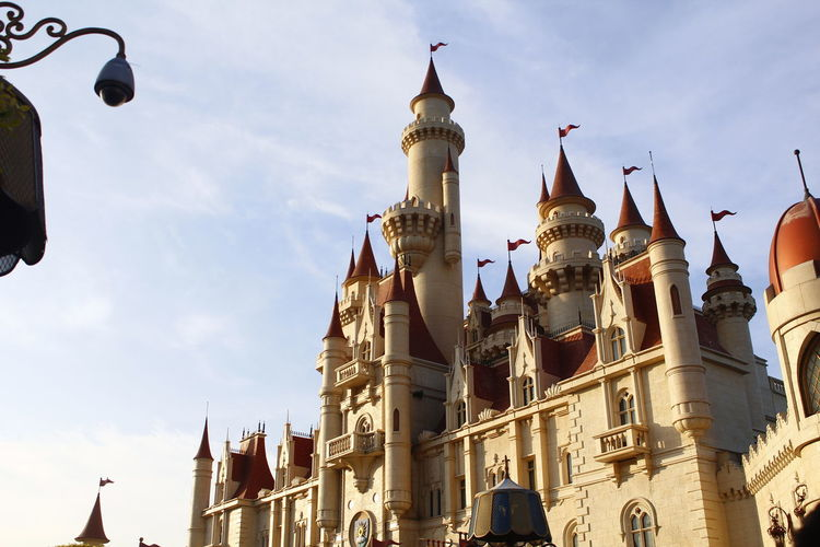 Castle by reach EyeEm New Here Sentosa Singapore Universal Studios  Architecture Building Exterior Day Landscape Landscape_photography Low Angle View Outdoors Sky First Eyeem Photo The Week On EyeEm