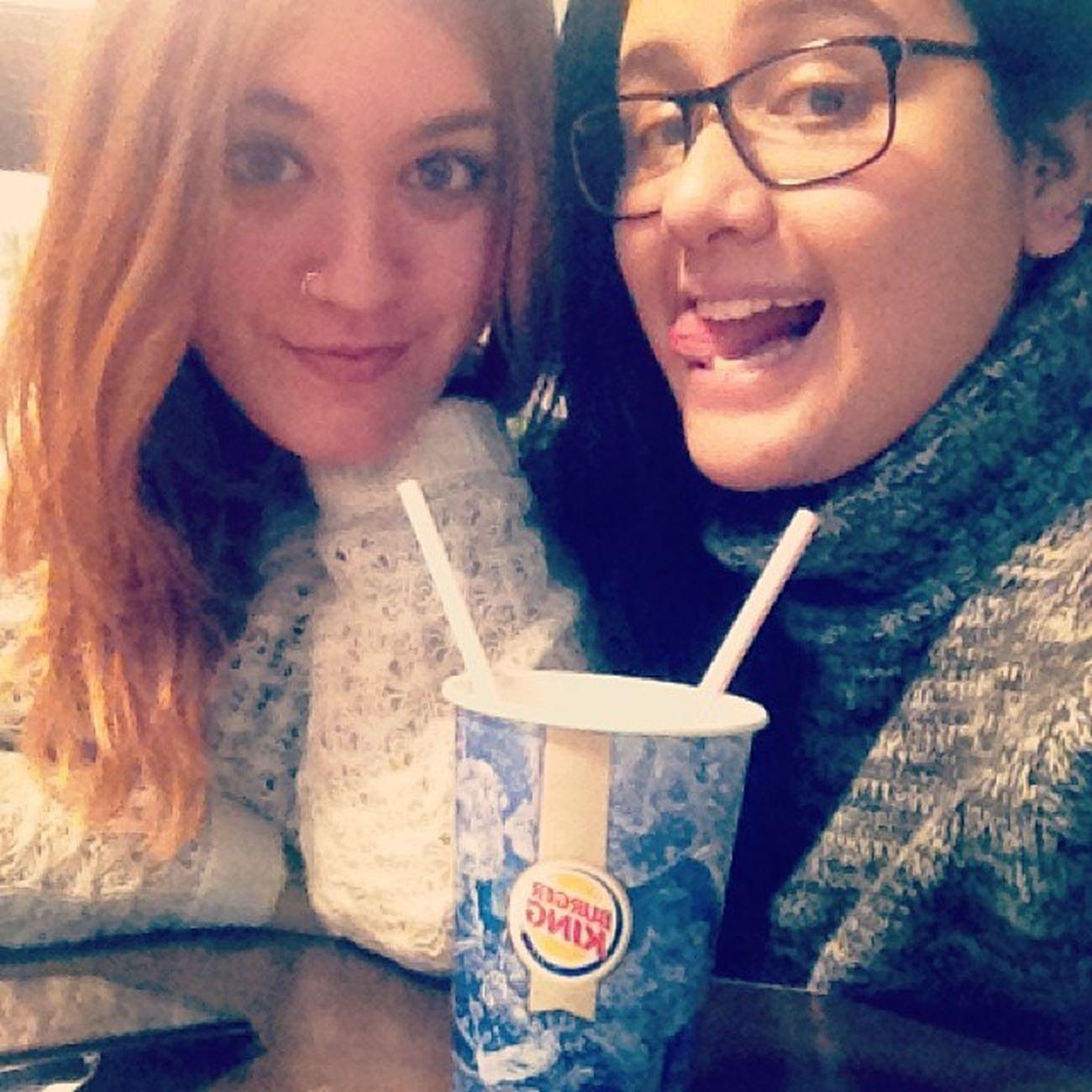 Litros y litros de coca-cola con @cristina_trs!