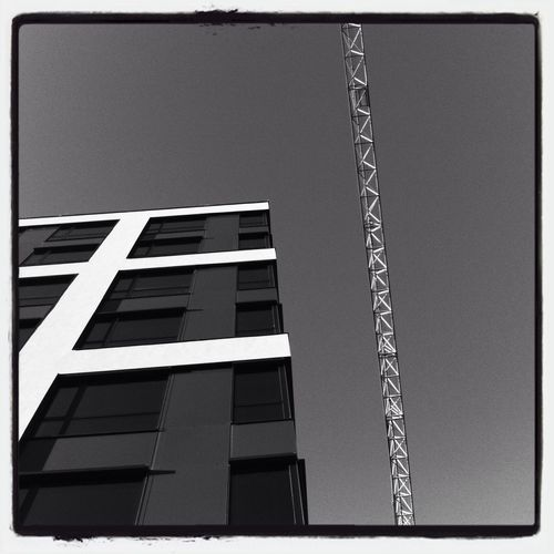 Construction Time Again... Black & White Black And White Blackandwhite Bw_collection