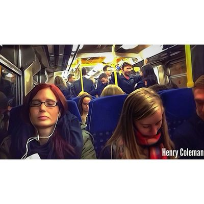 "She finds a quiet spot in the ""Rush Hour"" and is consumed with peace.... Lovelondon London London_only Londonpop London_only_members Loveldntwn Igerslondon Ig_london Ig_england Ig_europe Global_shotz Timeoutlondon Allshots_ Aauk Guesstination Uk_potd Streetshot_london TransportForLondon Londonunderground Rushhour Europe Commute"