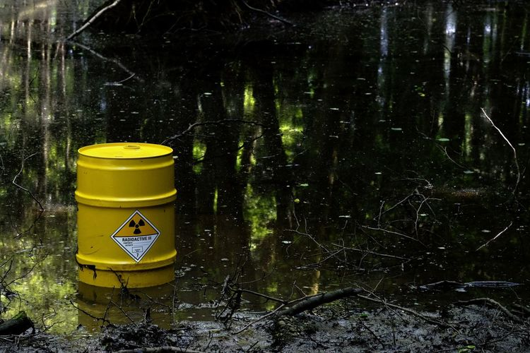 Yellow Day Outdoors No People Forest Water Tree Nature EyeEm Best Shots Eye4photography  EyeEmBestPics Nature Photography Barrel Radioactive Poison Swamp Black Wet Moor  Fujifilm Colection Wood Rubbish Waste Waste Disposal