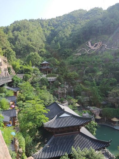 Non Filter Scenic Attraction Chinese Gods Chinese Architecture Ancient Architecture And Landscape Combination