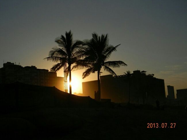 Enjoying Life Getting Inspired Silhouettes Sunset Silhouettes Sunset South Africa Durban Beautiful Sunset EyeEm Nature Lover