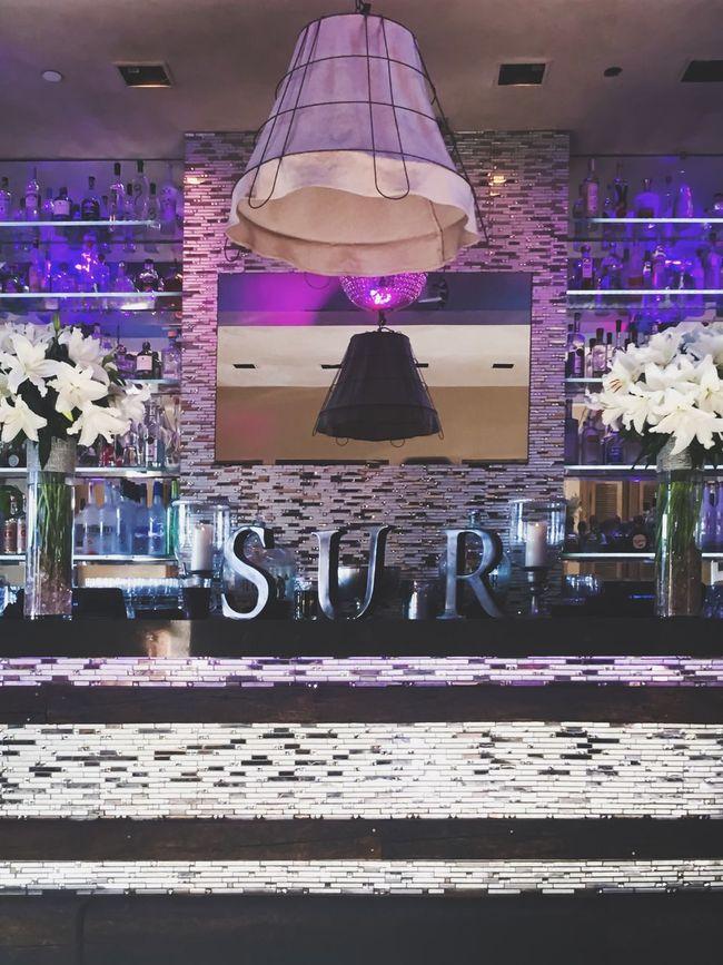 Flowers Flowerarrangement Discoball Purple Vibrant Color Happyhour Happy Hour Achitecture My Favorite Place Interior Design Alcohol Şūr