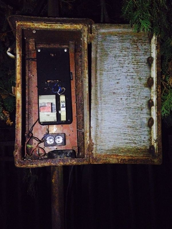 Switchbox Electricity  Damaged Connection Outdoors Abandoned No People Technology Rusty Popular Retro Night Hungary