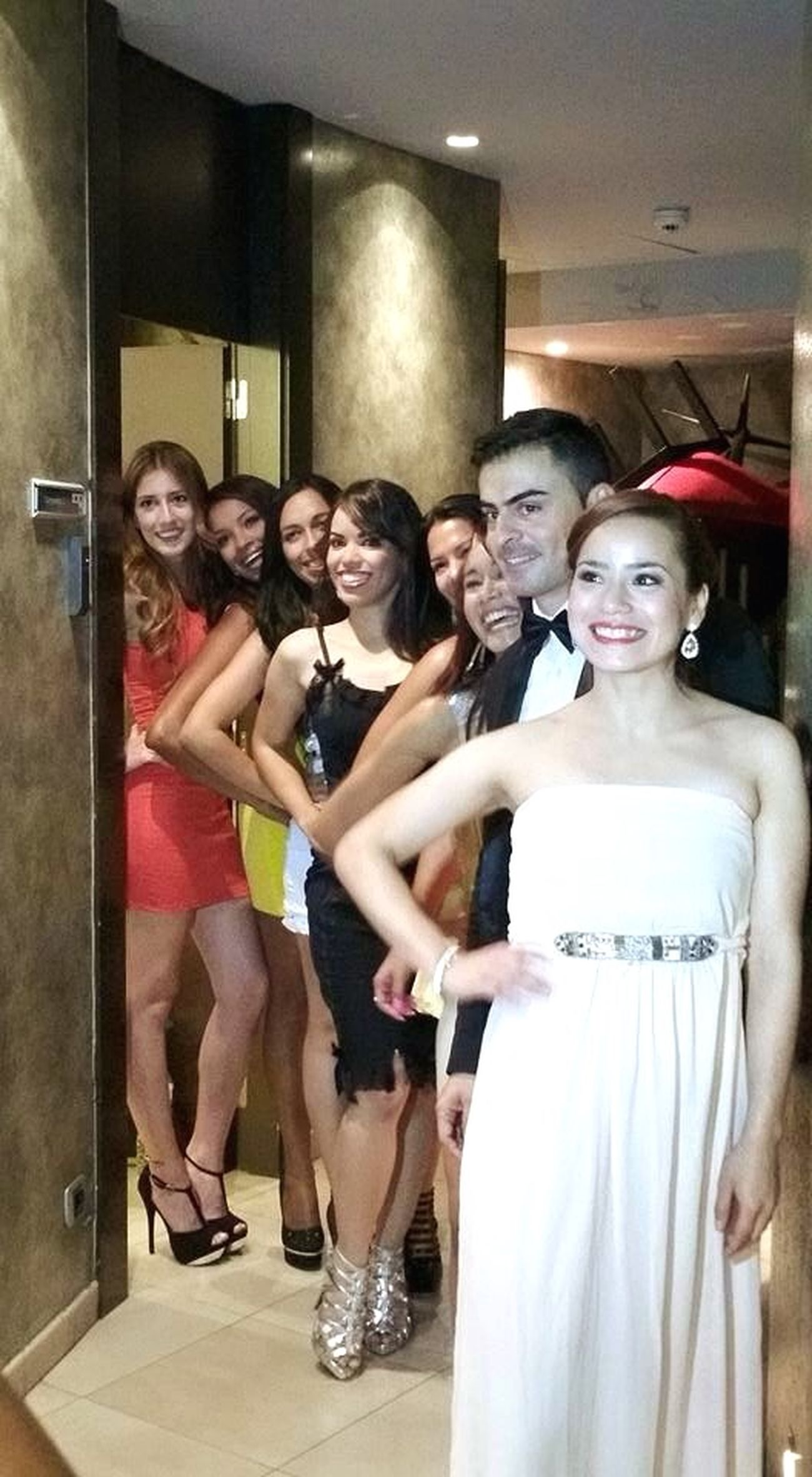 Gala MissChicaLatina2015 Models Model Backstage
