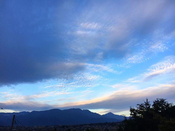 20171005 イマソラ✨空が綺麗✨今朝は冷んやりして肌寒い~。。木曜日、がんばろう~🍀😊 イマソラ 空 青空 Sky 雲 Cloud - Sky Good Morning Thursday