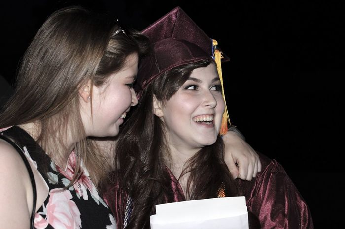 EyeEm Selects Two People Young Women Graduation Sisters Graduation Day Graduation Cap EyeEm Selects