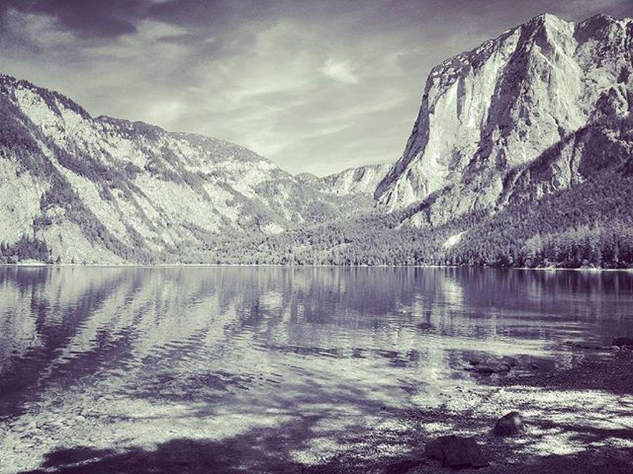 At Lake Mountain Aussee