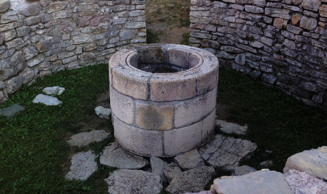Stone well Drinking Medieval No People Old Outdoors Stone Water Well