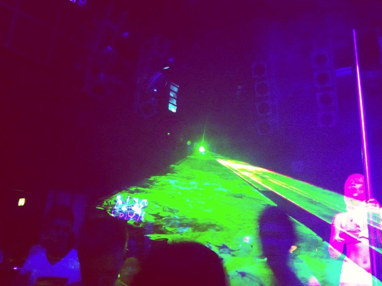 illuminated, night, lighting equipment, hanging, glowing, nightclub, enjoyment, blue, nightlife, light, light beam, electric light, multi colored, party - social event, dark, sky, event, vibrant color