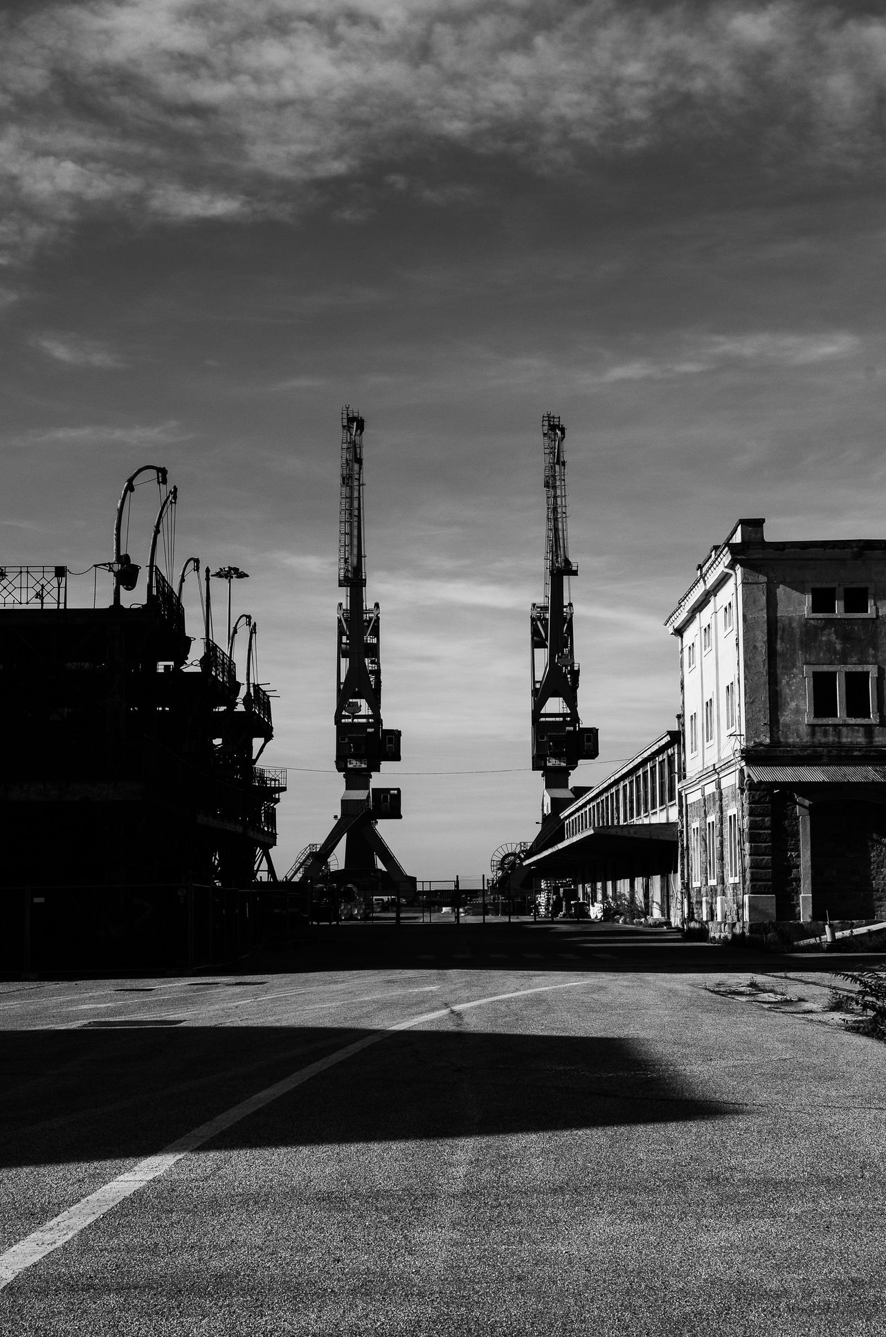 Architecture Cloud - Sky Day Factory Industry No People Outdoors Portovecchio Refinery Sky Trieste