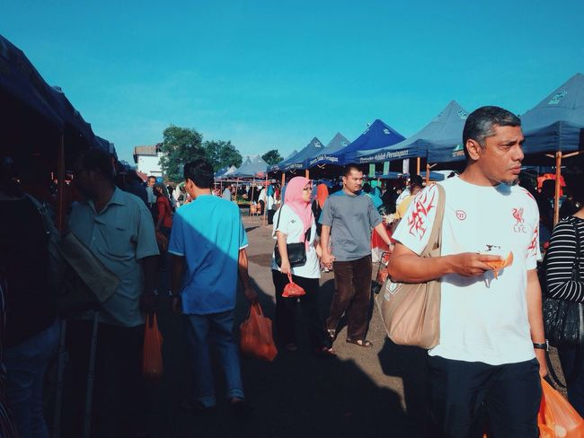 Pasar Tani, Flea Markets Showcase: January IPS2016Composition Capture The Moment People Watching Peoplephotography People Photography People Iphonephotography IPhone Iphoneonly IPhoneography VSCO Vscocam Eye4photography  Clouds And Sky (null) Sky_collection Skyporn Sky Light And Shadow