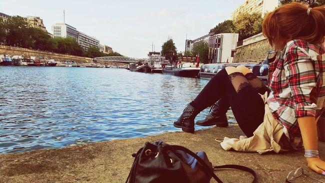 Paris Love La Seine Girlfrench Mode