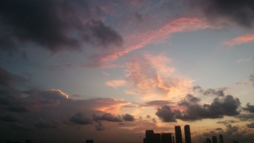 Beauty Of Jakarta Enjoying The View 0riginal Takenbyme Latepost Xperiaz2 The Original Picture