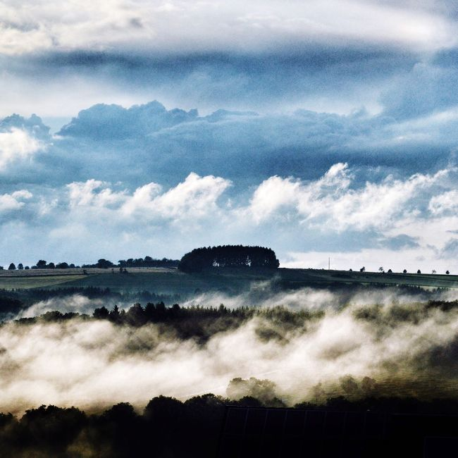 Clouds And Sky Cloudy Skies Clouds Cloudscape Nature Natur Wolken Wolkenhimmel Luxembourg Luxemburg Oesling Nuages Misty