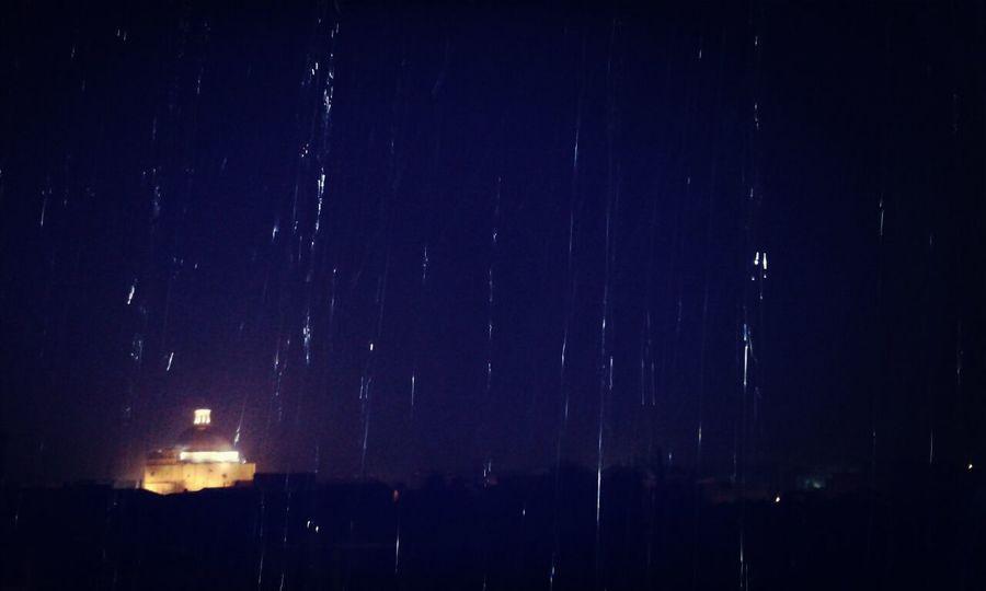 Autumn Rain Frommywindow Tonight