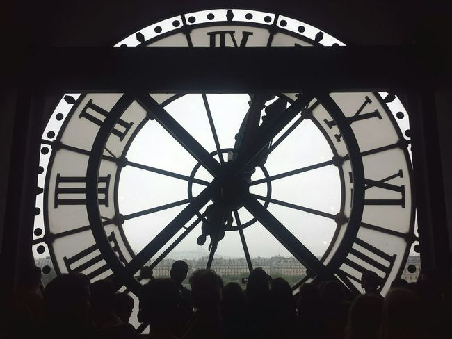 Paris France Clockwise Time Clock Time Will Tell  Schooltrip Walking Around The City  Culture VSCO VSCO Cam Traveling