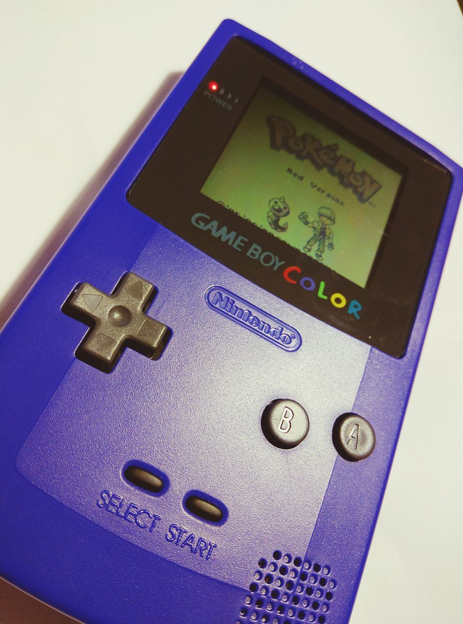 My old Gbc with Pokemon Red Nintendo Nintendolife Nintendogbc Pokémon Pokemon. Pokemonfan Purple Gameboycolor Gameboy Gbc 90sbaby Oldie  Check This Out Classic First Eyeem Photo