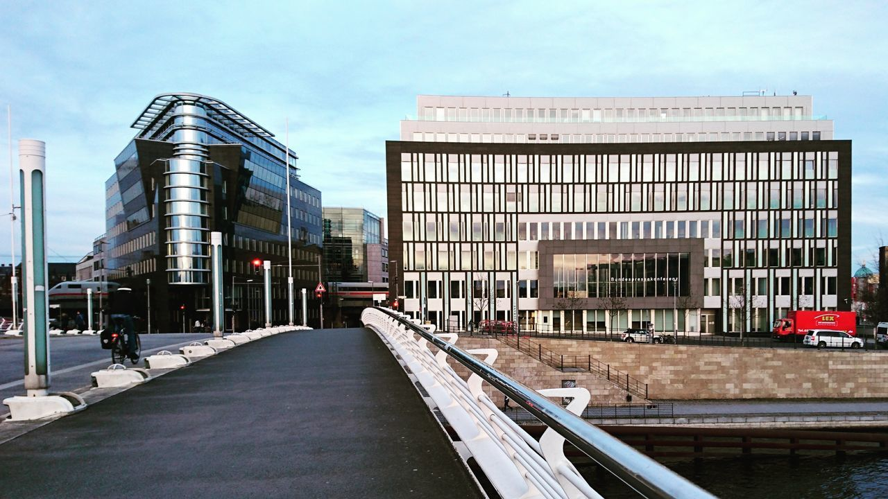 Architecture City Business Finance And Industry Modern Outdoors Downtown District Berlin City Landscape