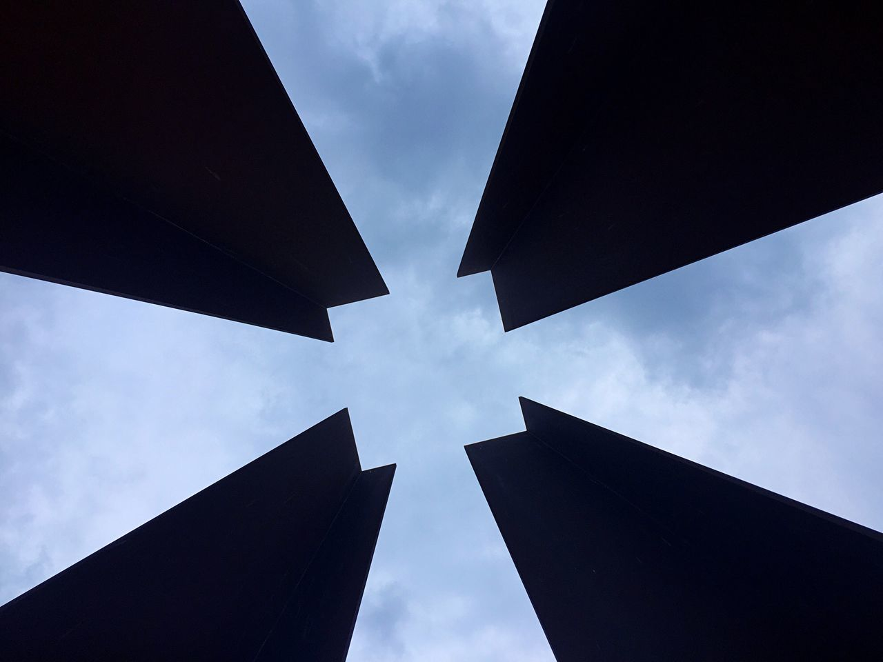Memorial Berlin Wall Mauerpark Tower From My Point Of View From Below Head Up Look Up Sky Leading Lines Architecture Square Fine Art Photography Cross Pivotal Ideas Radiant My Year My View Capture Berlin Minimalist Architecture Welcome To Black