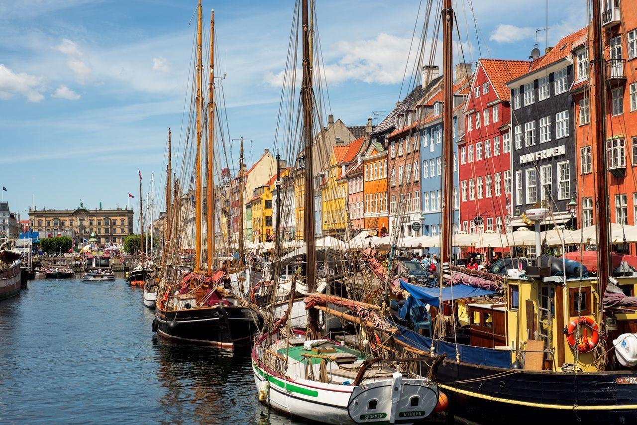 Danmark Copenhagen, Denmark Colorful City Land Of Fairytales