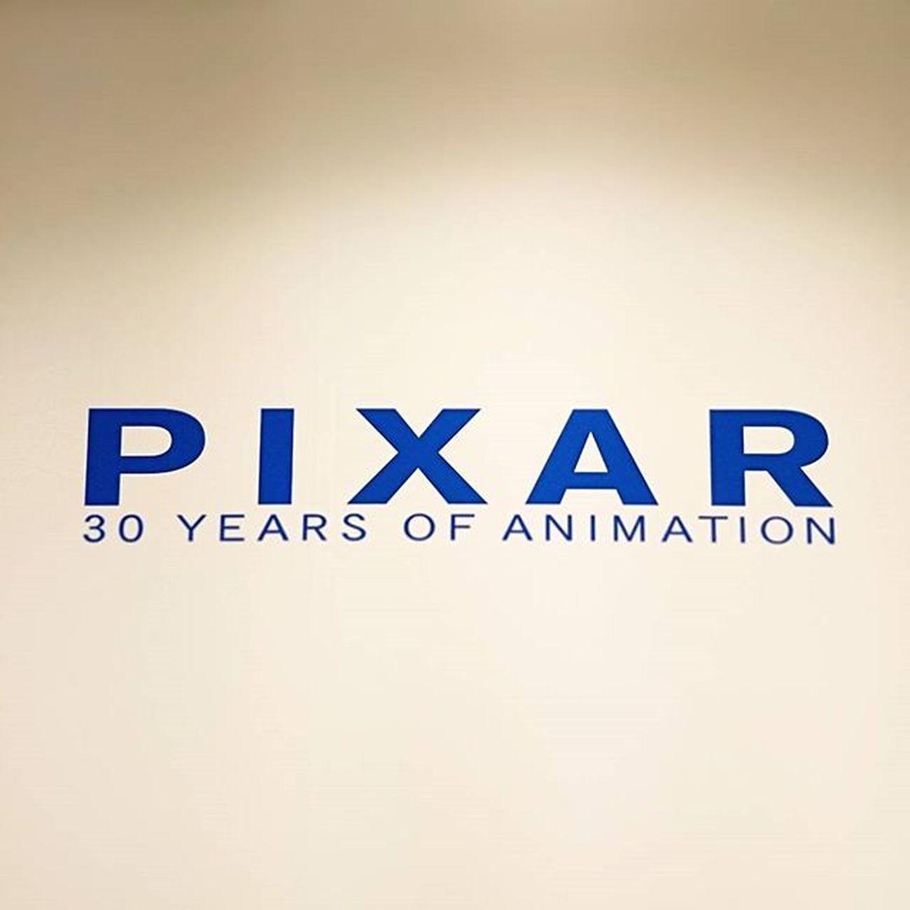 Pixar  と同じ年♪ 素晴らしかった、PIXAR展
